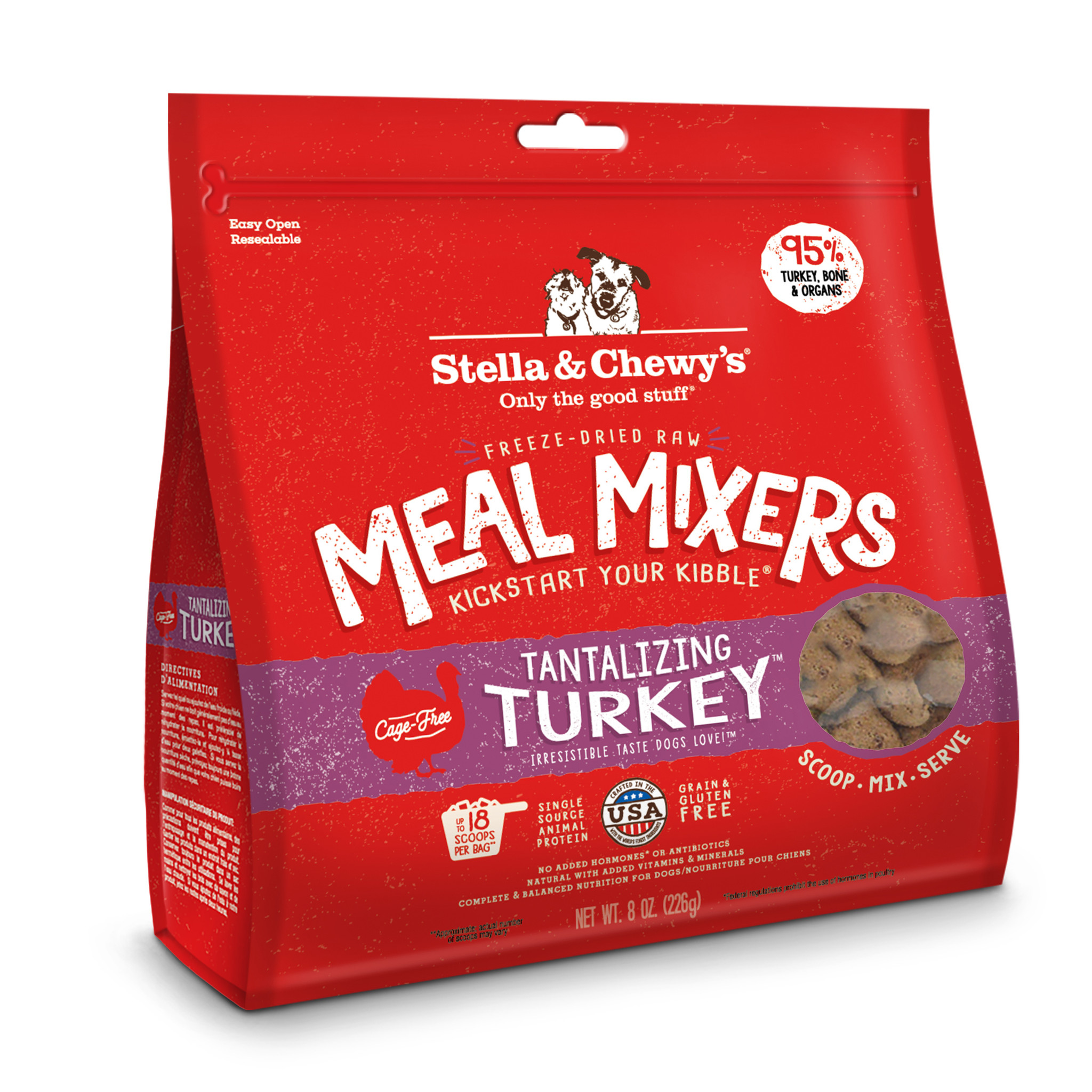 Stella & Chewys Stella & Chewys Tantalizing Turkey Meal Mixer
