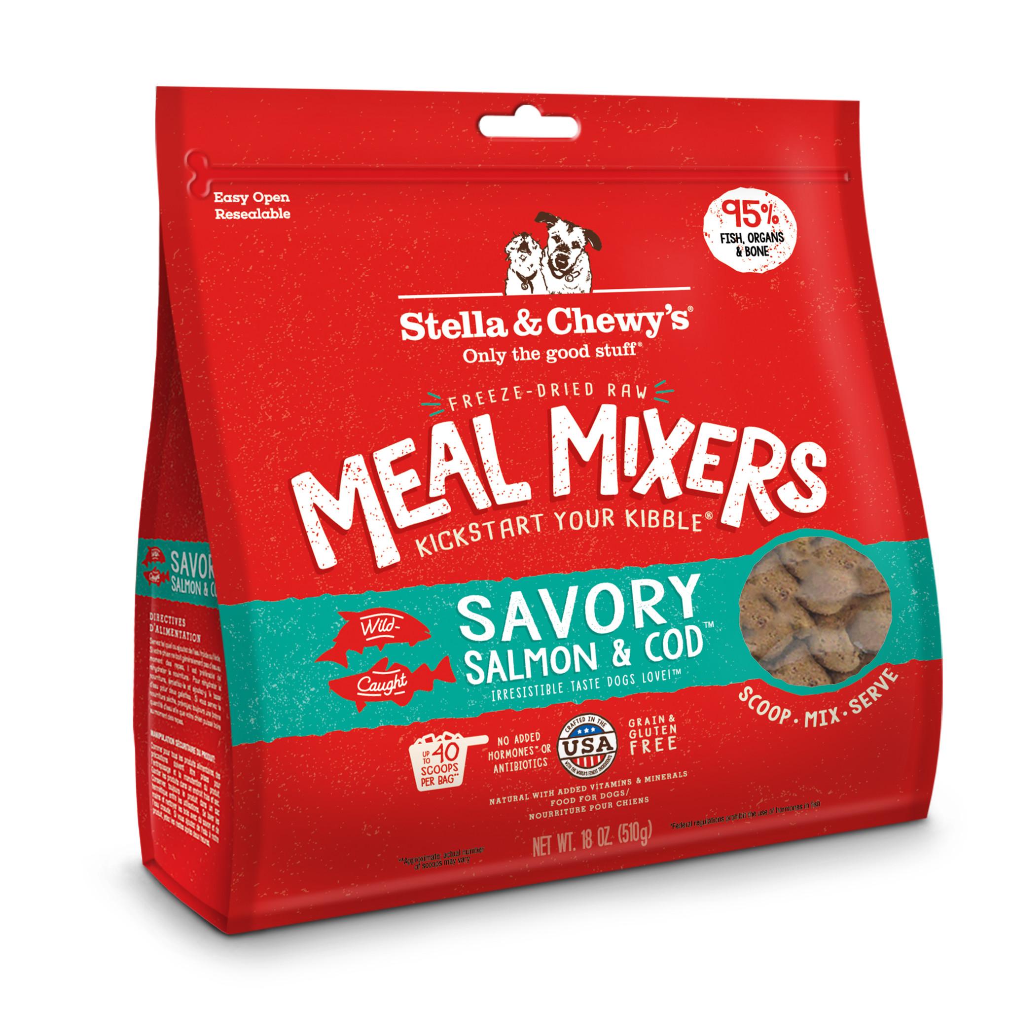 Stella & Chewys Stella & Chewys Savory Salmon & Cod Meal Mixer