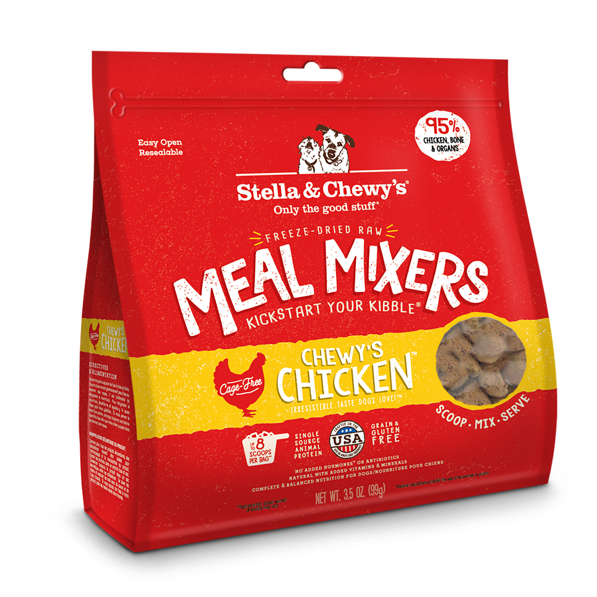 STELLA & CHEWYS Stella & Chewys Chewy's Chicken Meal Mixer
