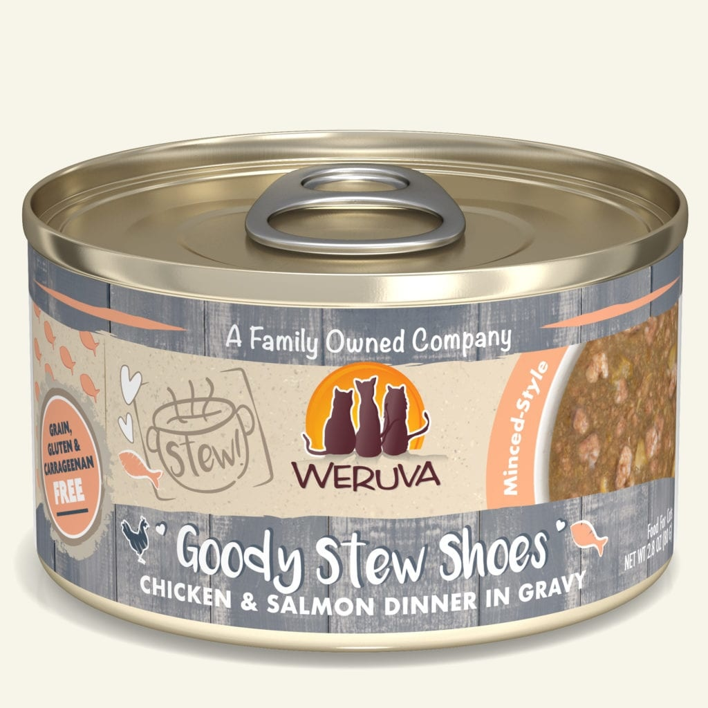 Weruva Weruva Stew! Goody Stew Shoes Chicken & Salmon Dinner in Gravy