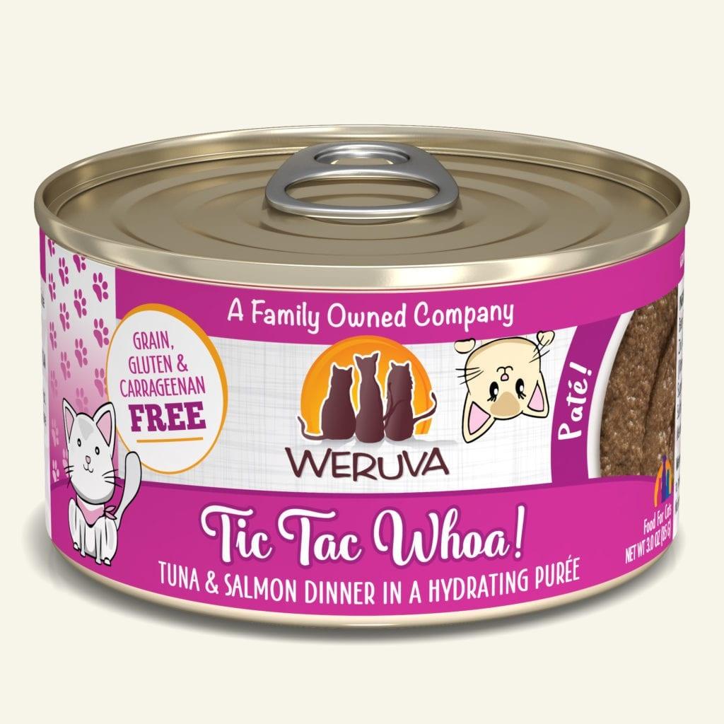 Weruva Weruva Pate Tic Tac Whoa! Tuna & Salmon Dinner