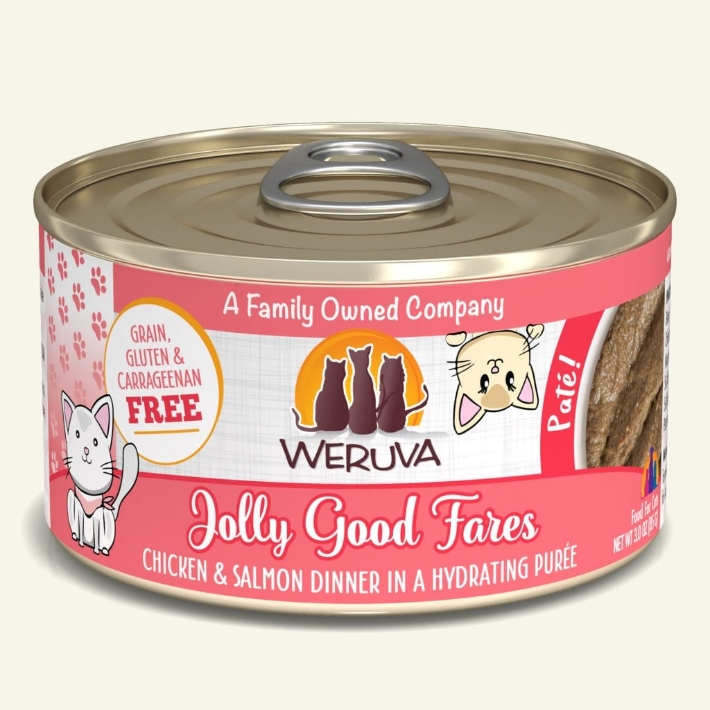 Weruva Weruva Pate Jolly Good Fares Chicken & Salmon Dinner