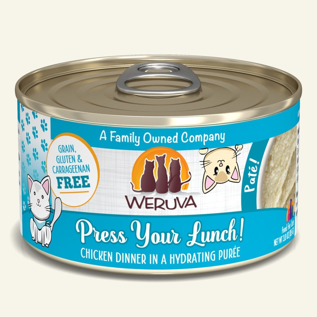 Weruva Weruva Pate Press Your Lunch! Chicken Dinner