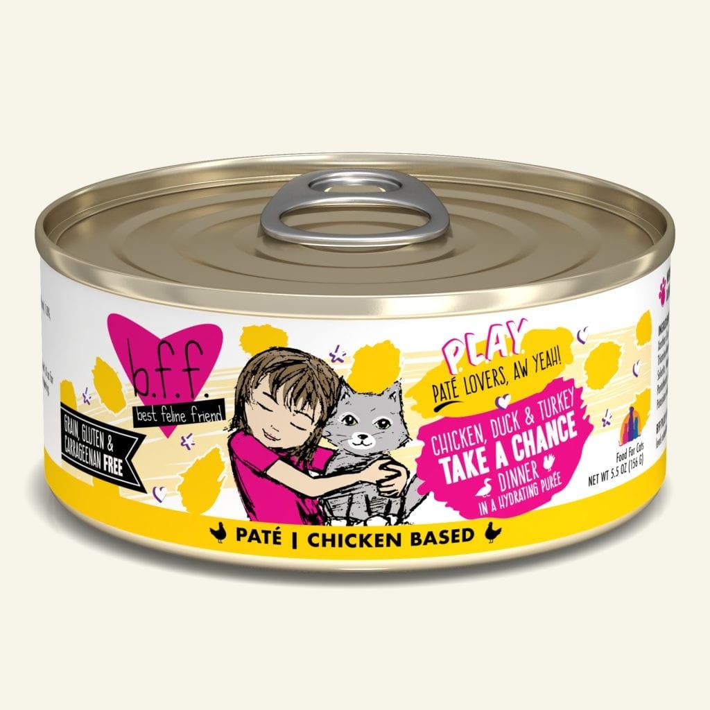 Weruva BFF PLAY Chicken, Duck & Turkey Take a Chance Chicken, Duck & Turkey Dinner