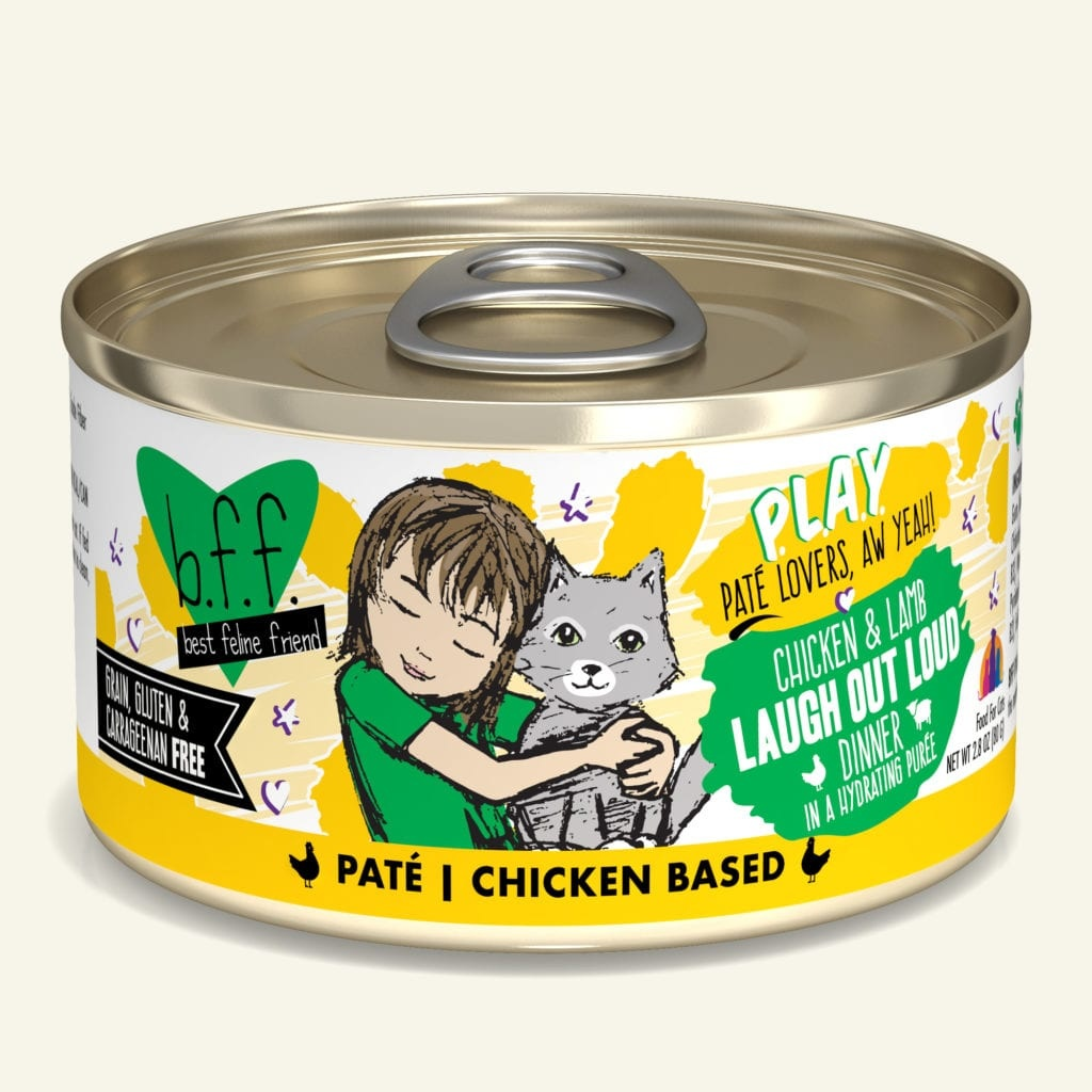 Weruva BFF PLAY Tuna & Duck Laugh Out Loud Tuna & Duck Dinner