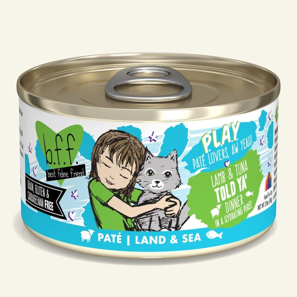 Weruva BFF PLAY Told Ya' Lamb & Tuna Dinner