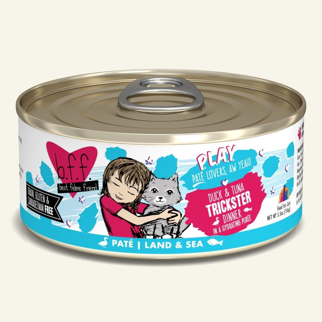 Weruva BFF PLAY Duck & Tuna Trickster Duck & Tuna Dinner