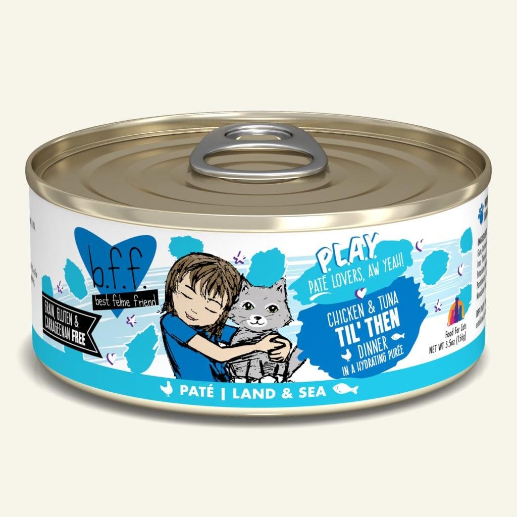 Weruva BFF PLAY Chicken & Tuna Til' Then Chicken & Tuna Dinner