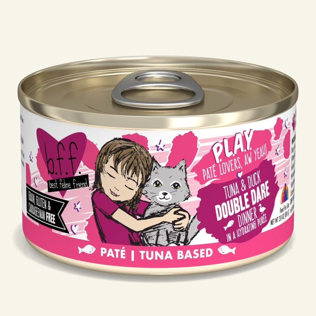 Weruva BFF PLAY Tuna & Duck Double Dare Tuna & Duck Dinner