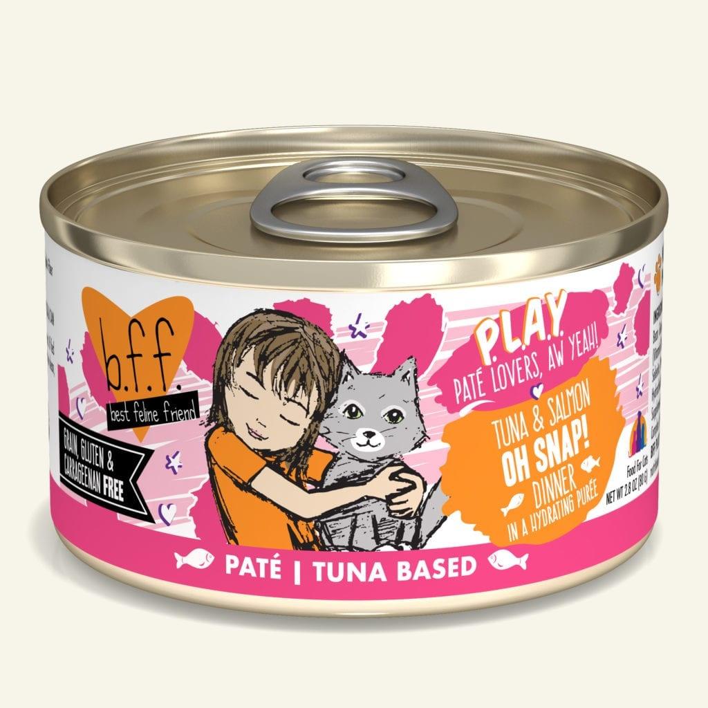 Weruva BFF PLAY Tuna & Salmon Oh Snap! Tuna & Salmon Dinner
