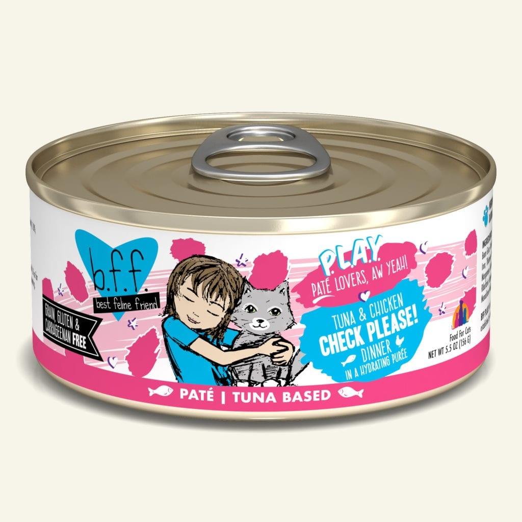 Weruva BFF PLAY Tuna & Chicken Check Please! Tuna & Chicken Dinner