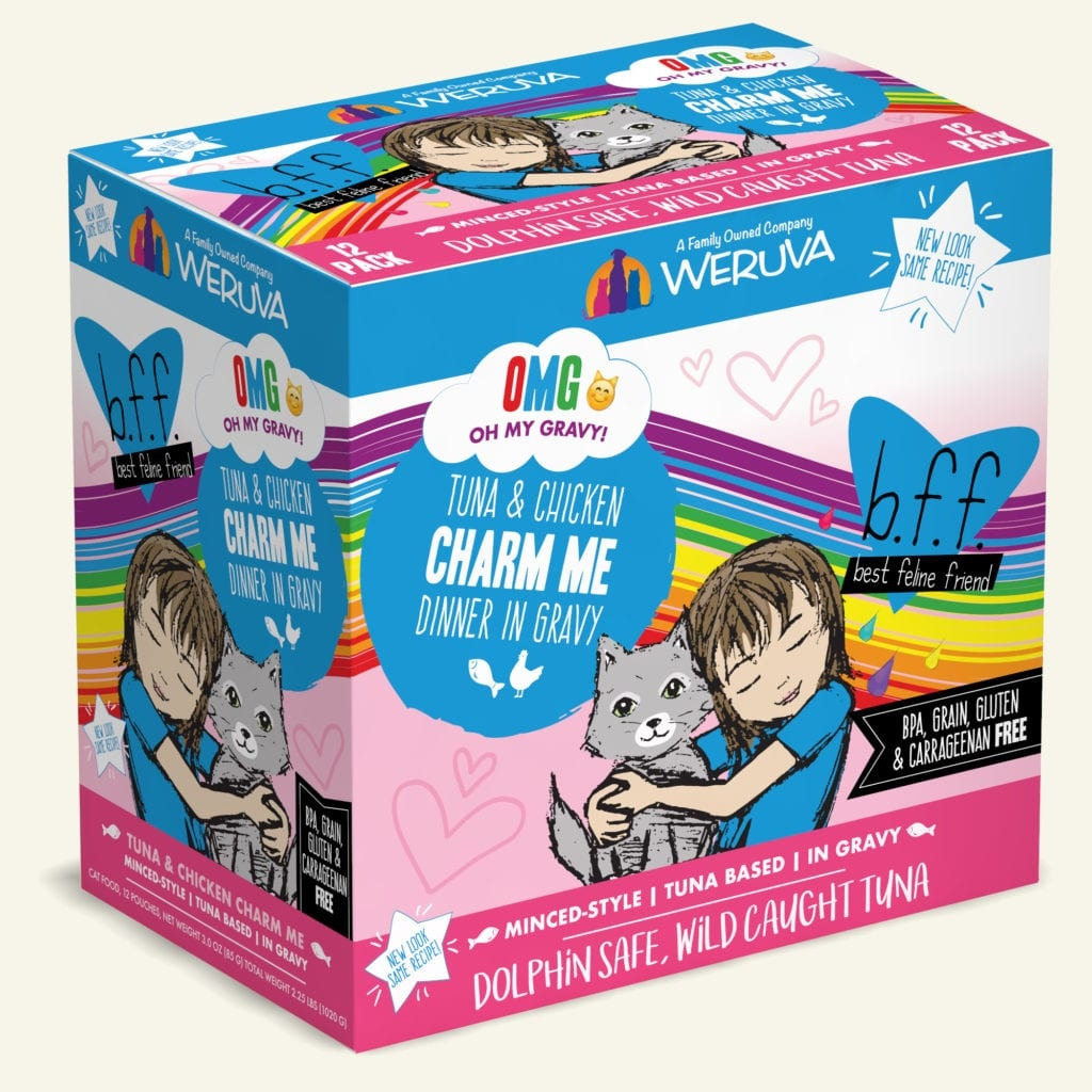 Weruva BFF Charm Me Tuna & Chicken Dinner in Gravy For Cats