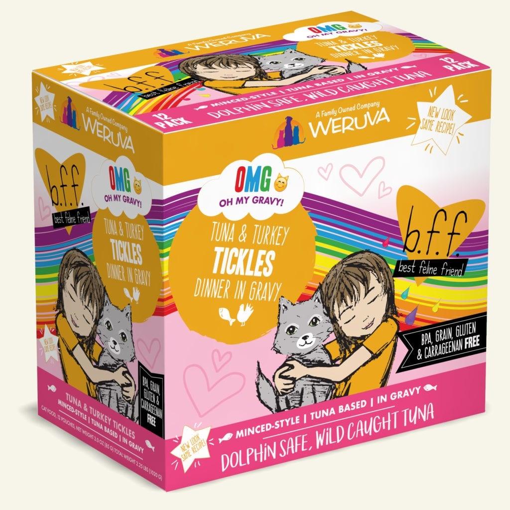 Weruva BFF Tickles Tuna & Turkey Dinner in Gravy For Cats