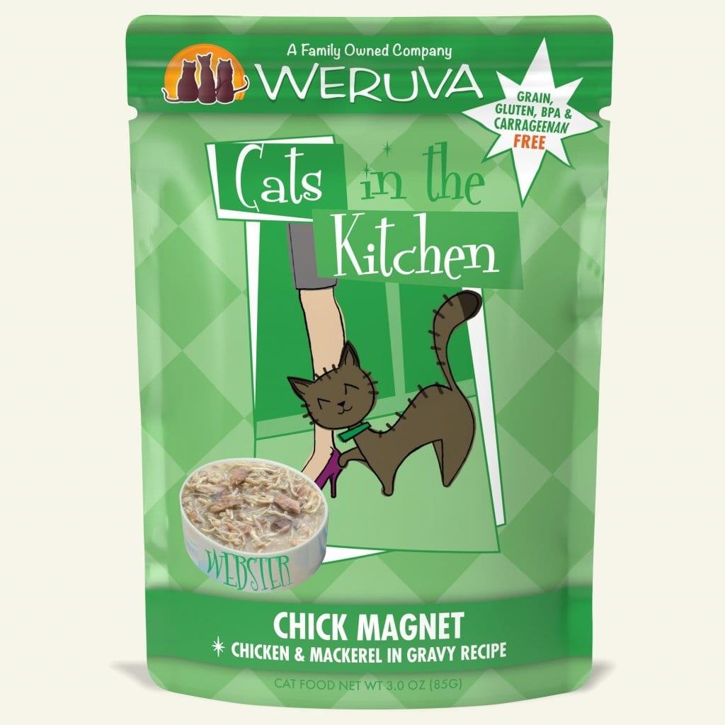 Weruva Weruva Cats in the Kitchen Chick Magnet Chicken & Mackerel in Gravy For Cats