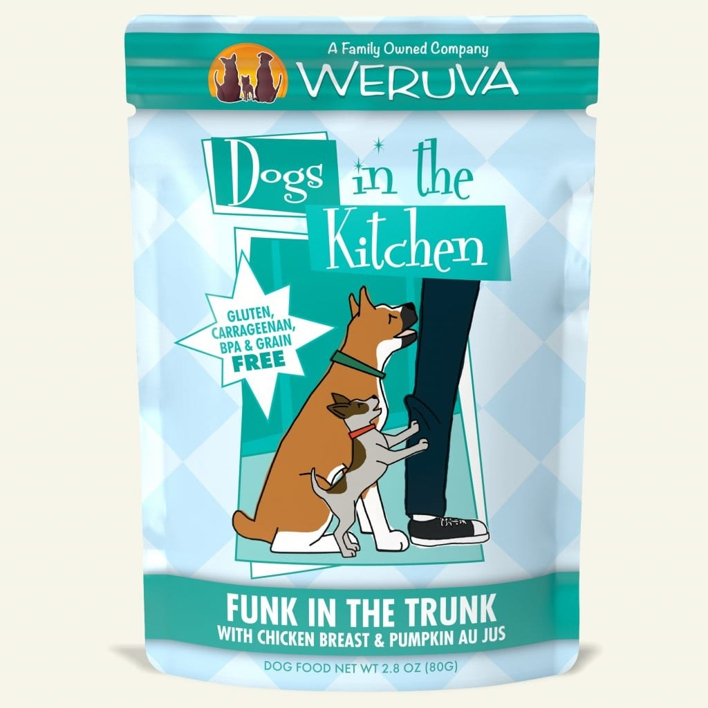 Weruva Weruva Dogs in the Kitchen Funk in the Trunk with Chicken & Pumpkin Au Jus Pouch