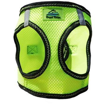 Doggie Design Doggie Design American River Choke Free Harness Iridescent Green