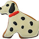 Bone Bons Dalmatian Bakery Cookie 3""