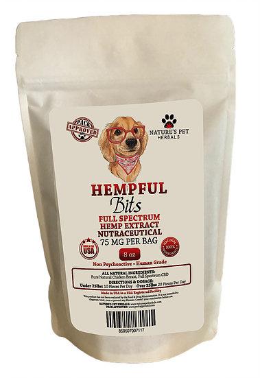 Nature's Pet Herbals Nature's Pet Hempful CBD Chicken Bits 8oz
