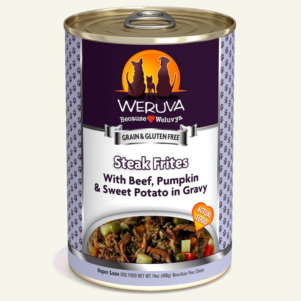 Weruva Weruva Steak Frites with Beef, Pumpkin & Sweet Potato in Gravy
