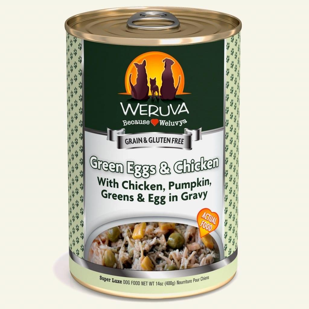 Weruva Weruva Green Eggs & Chicken with Chicken, Pumpkin, Greens & Egg in Gravy