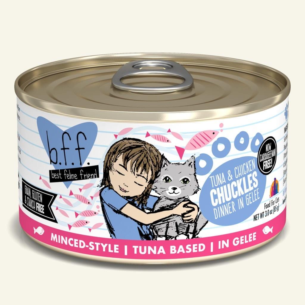 Weruva BFF Chuckles Tuna & Chicken Dinner in Gelée For Cats