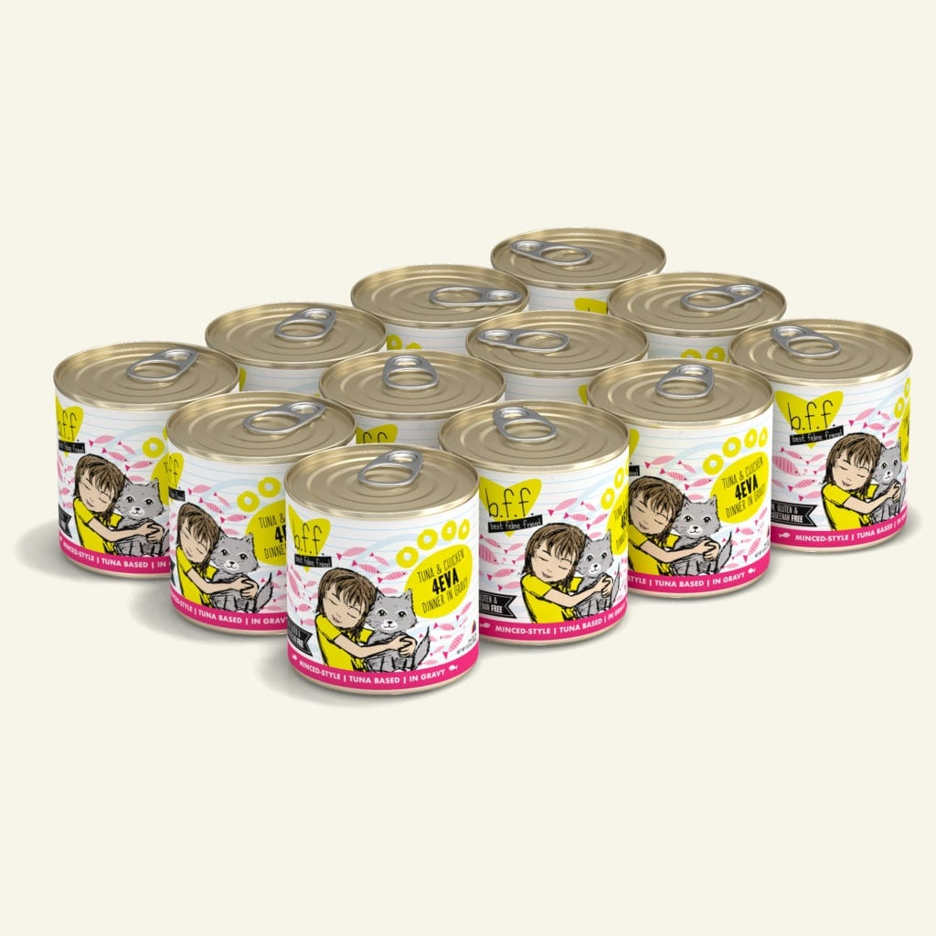 Weruva BFF 4Eva Tuna & Chicken Dinner in Gravy For Cats