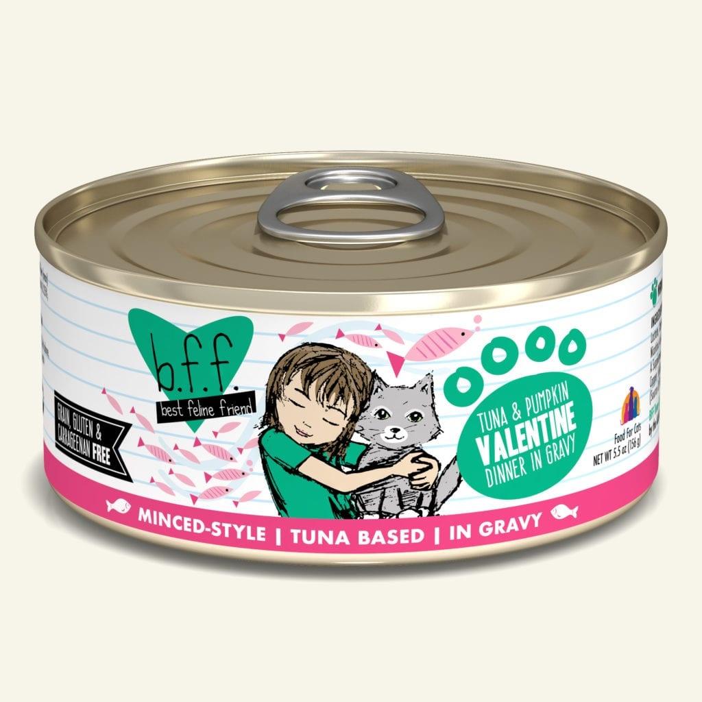 Weruva BFF Valentine Tuna & Pumpkin Dinner in Gravy For Cats