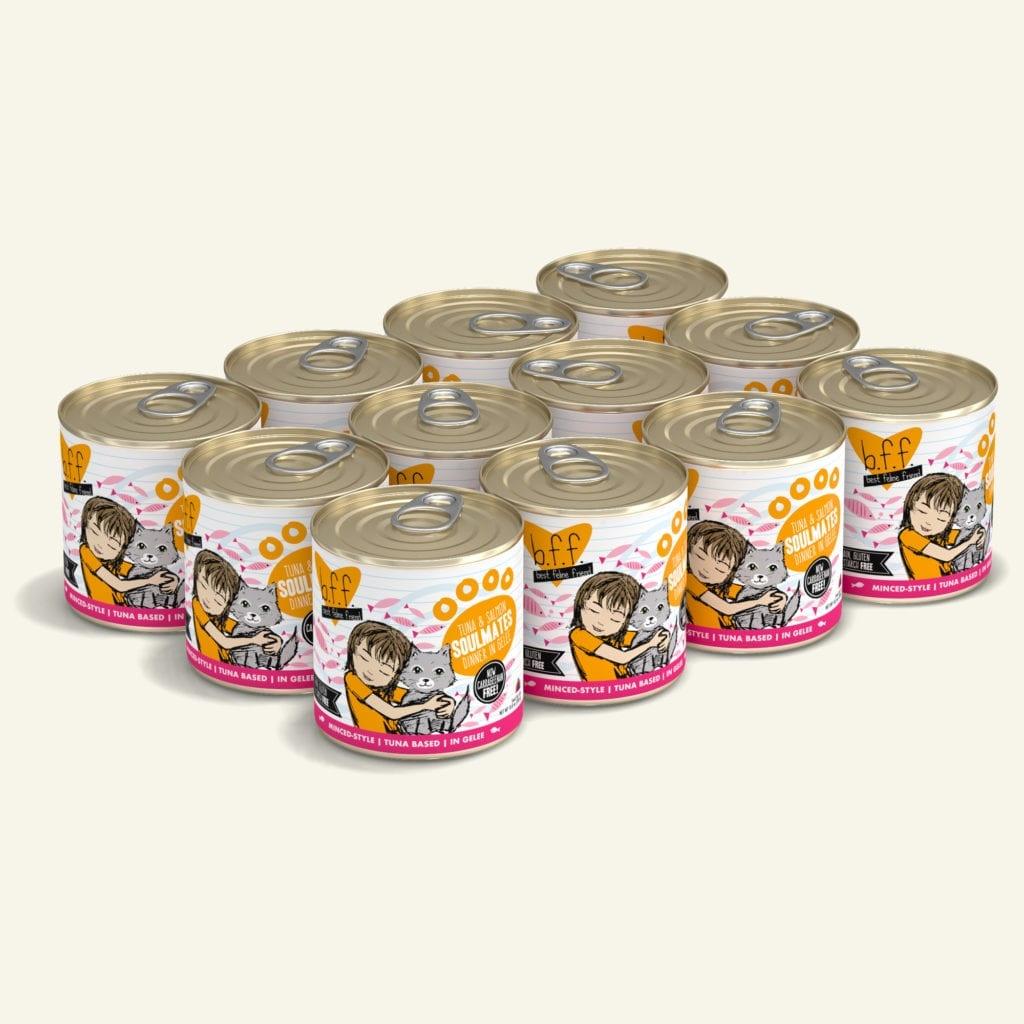 Weruva BFF Soulmates Tuna & Salmon Dinner in Gelée For Cats