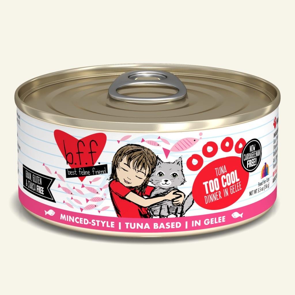 Weruva BFF Tuna Too Cool Tuna Dinner in Gelée For Cats