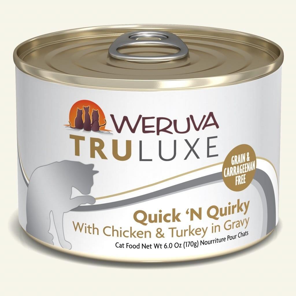 Weruva Weruva Truluxe Quick 'N Quirky with Chicken & Turkey in Gravy For Cats