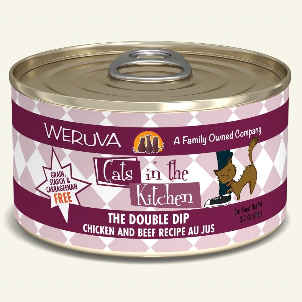 Weruva Weruva Cats in the Kitchen The Double Dip Chicken and Beef Recipe Au Jus For Cats
