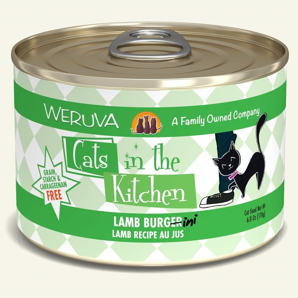 Weruva Weruva Cats in the Kitchen Lamb Burger-ini Lamb Recipe Au Jus For Cats