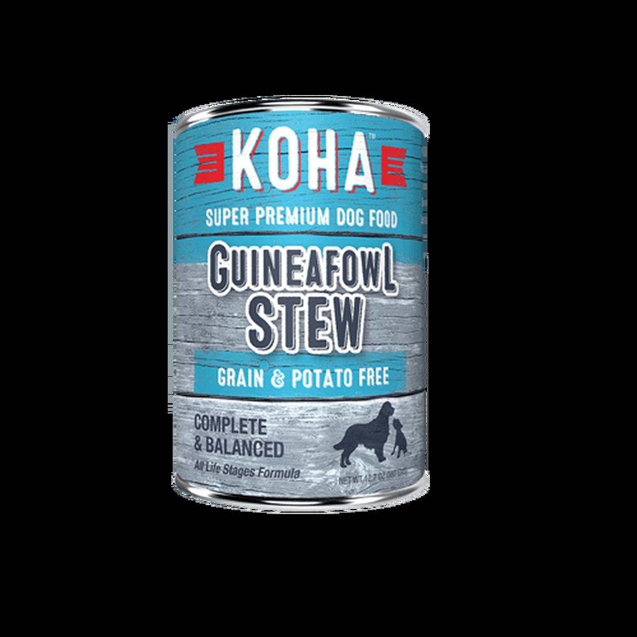 Koha Koha Guineafowl Stew
