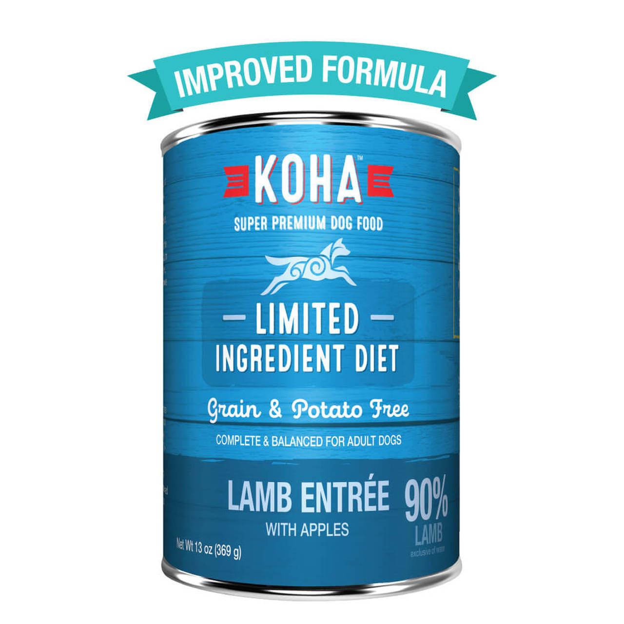 Koha Koha Limited Ingredient Diet Lamb Entree