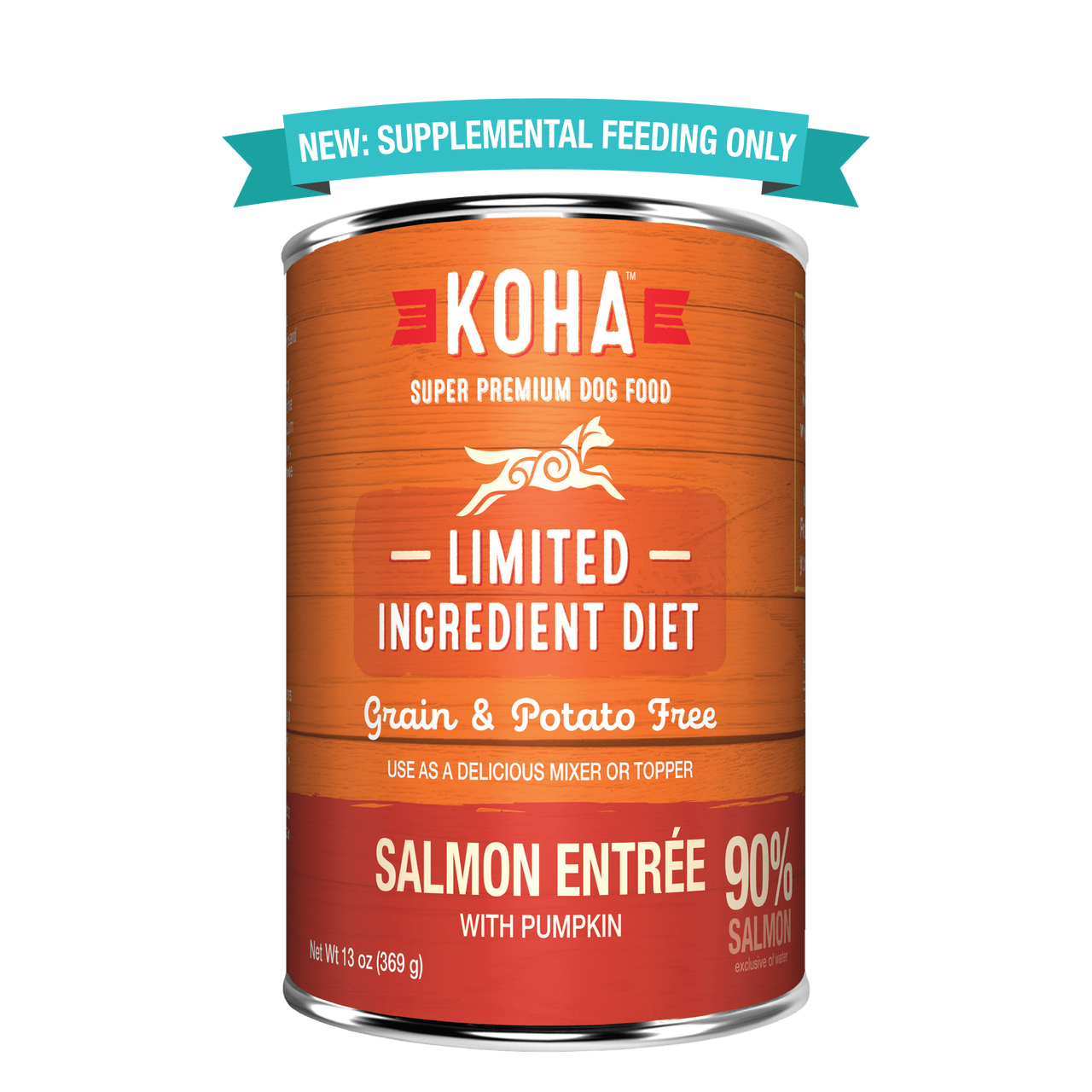 Koha Koha Limited Ingredient Salmon Entree