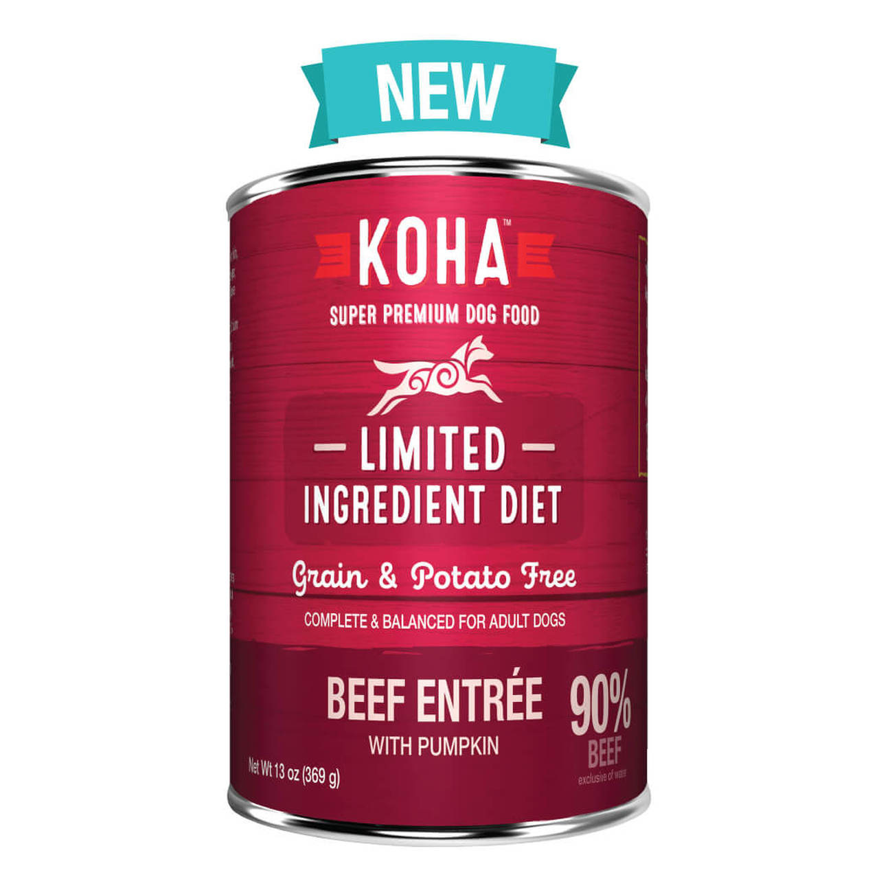 Koha Koha Limited Ingredient Beef Entree