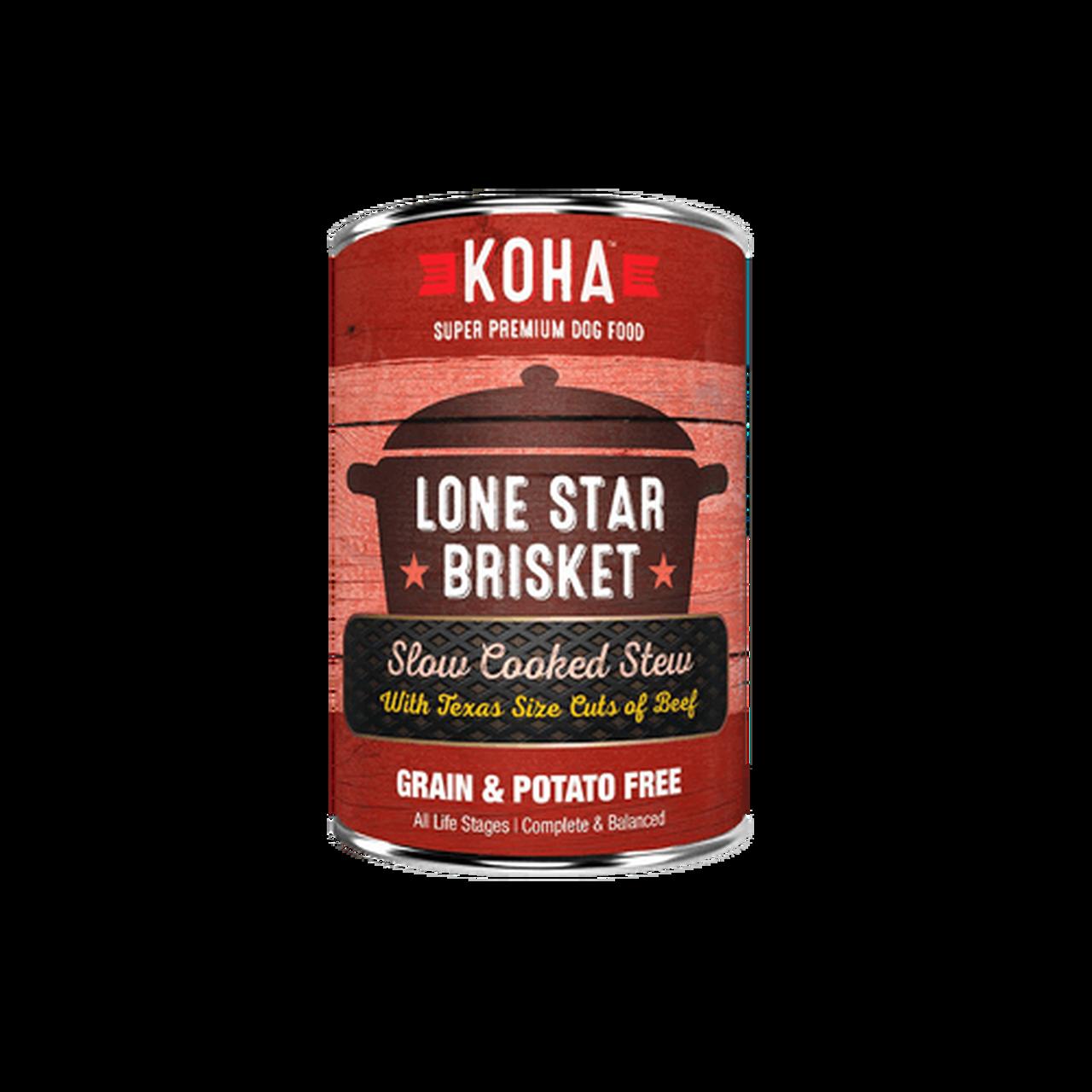 Koha Koha Lone Star Brisket Slow Cooked Stew