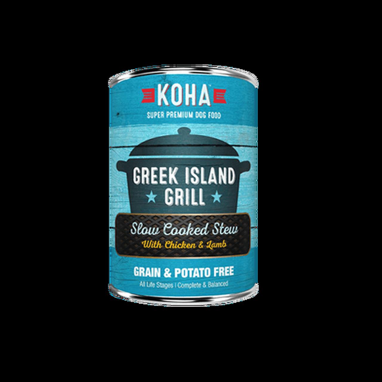 Koha Koha Greek Island Grill Slow Cooked Stew