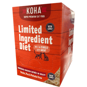 Koha Koha Shredded Limited Ingredient Chicken Entree in Gravy