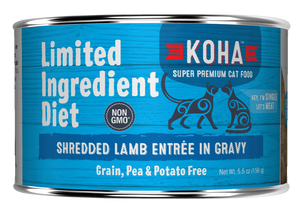 Koha Koha Shredded Limited Ingredient Lamb Entree in Gravy For Cats