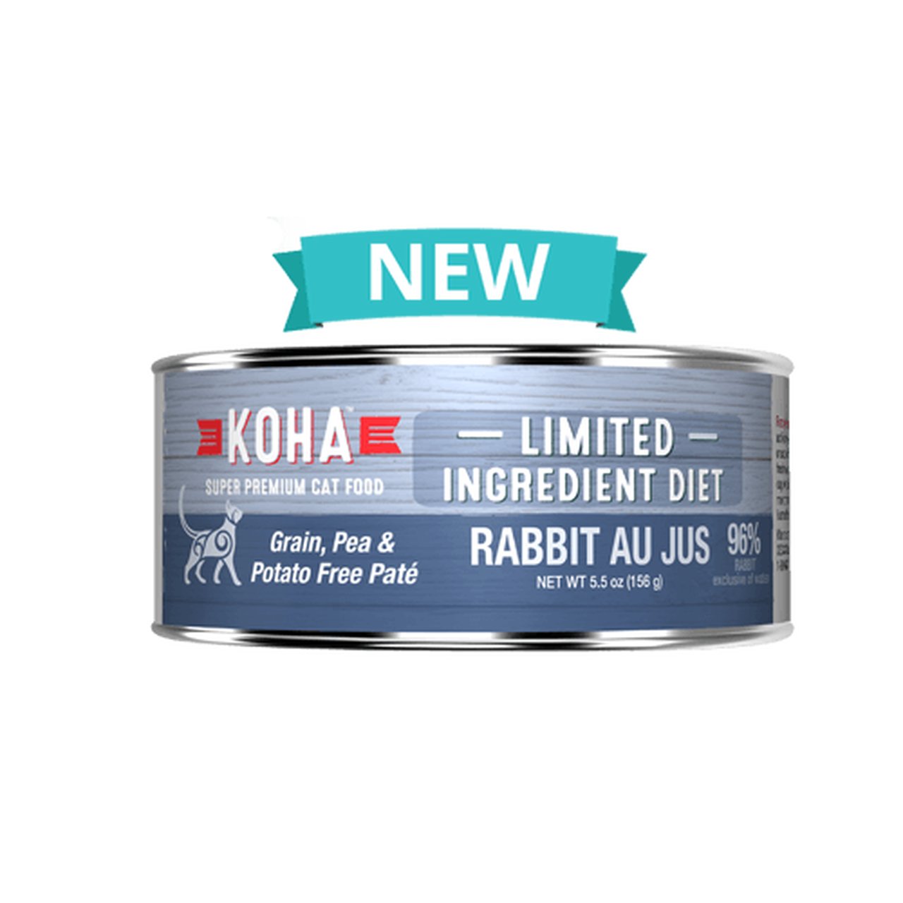 Koha Koha Limited Ingredient Rabbit Au Jus For Cats