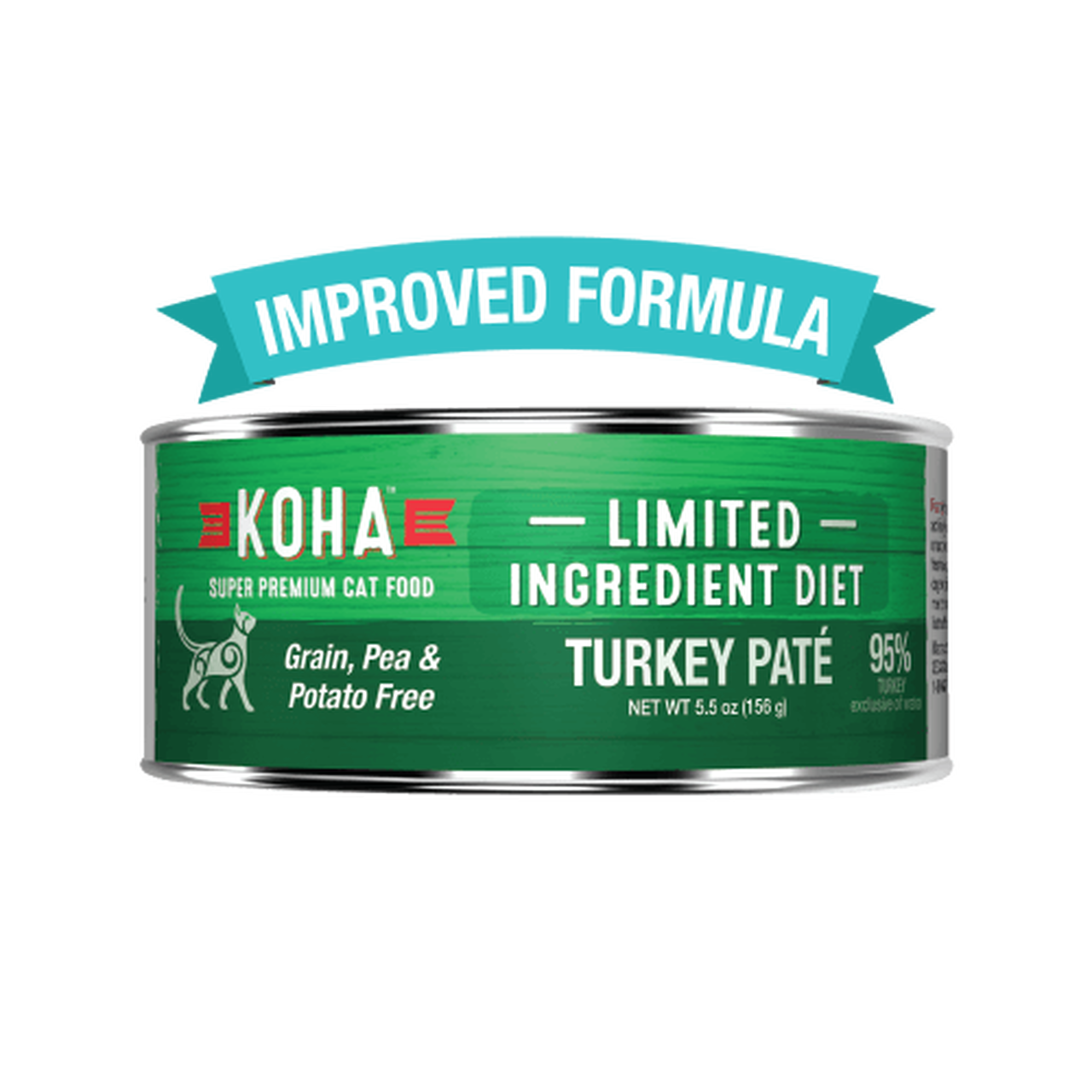Koha Koha Limited Ingredient Turkey Pate For Cats