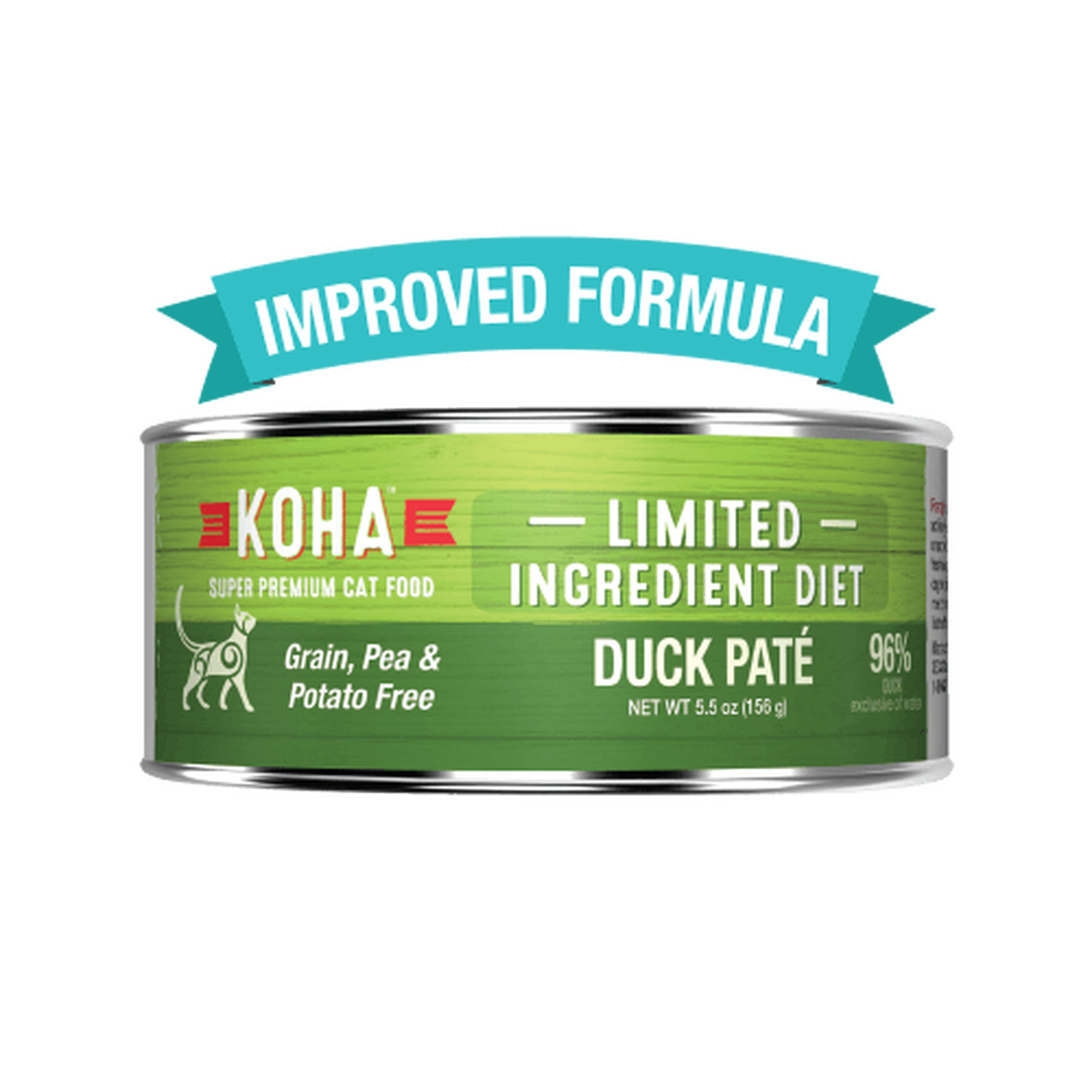 Koha Koha Limited Ingredient Duck Pate For Cats