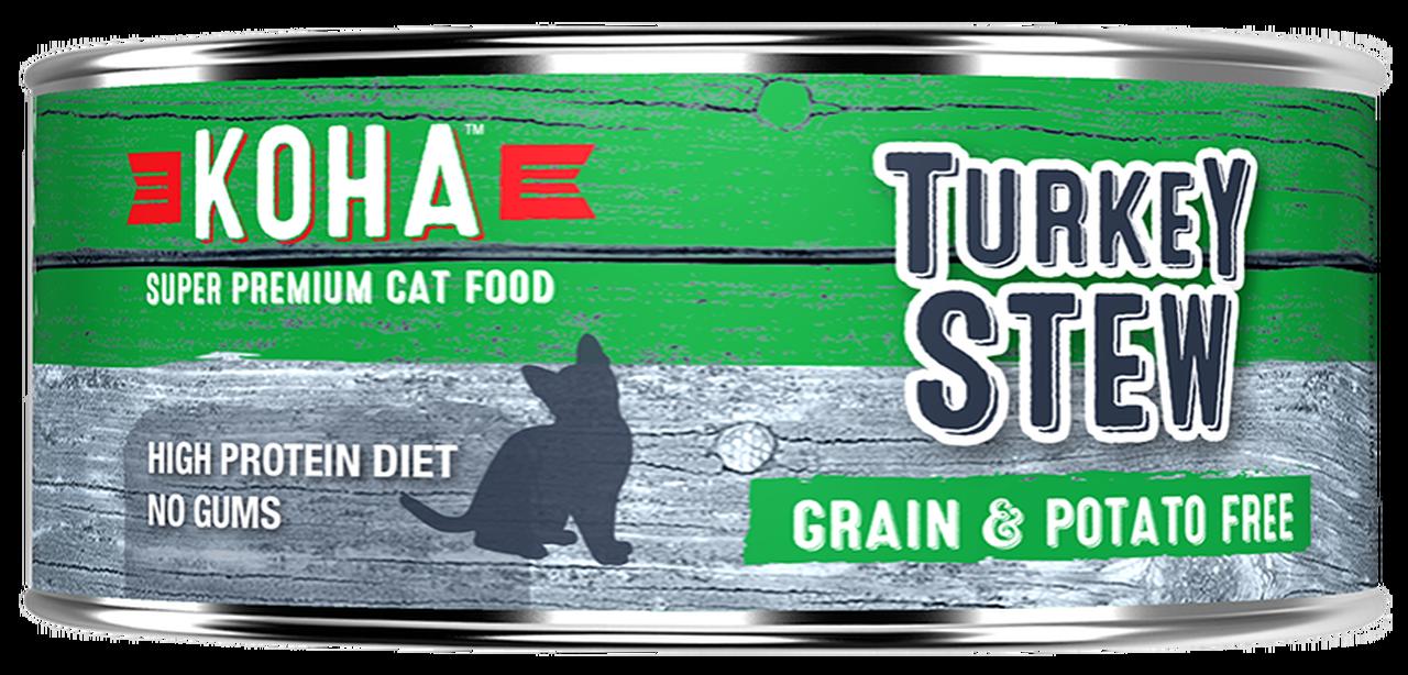 Koha Koha Turkey Stew For Cats