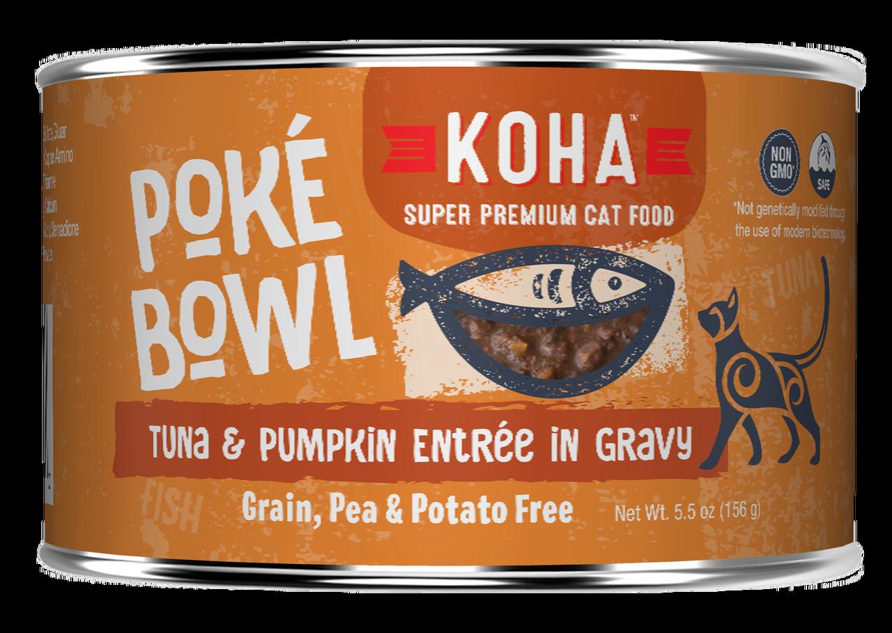 Koha Koha Poke Bowl Tuna & Pumpkin Entree in Gravy