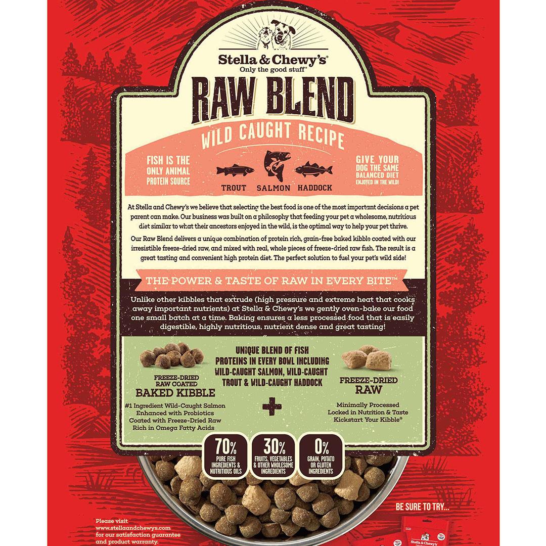 Stella & Chewys Stella & Chewys Raw Blend Wild Caught Recipe