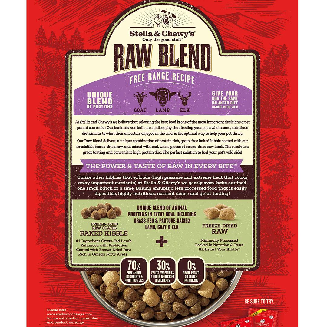 Stella & Chewys Stella & Chewys Raw Blend Free Range Recipe