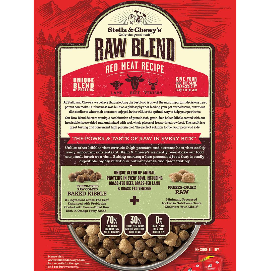 Stella & Chewys Stella & Chewys Raw Blend Red Meat Recipe