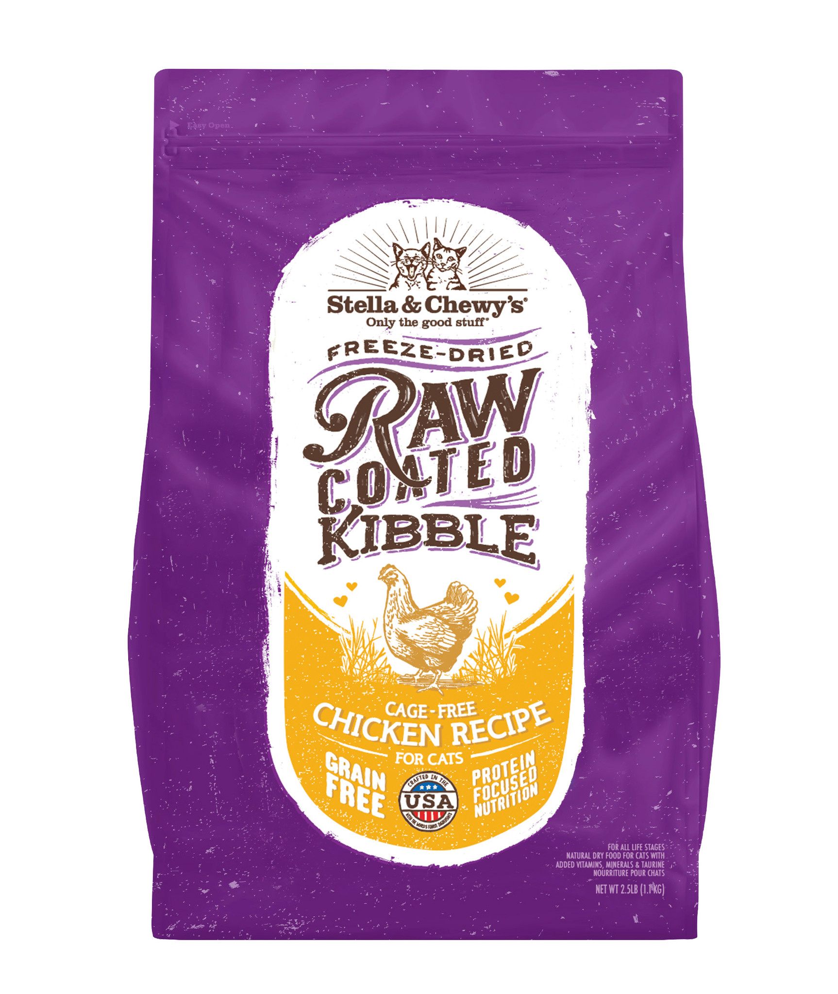 Stella & Chewys Stella & Chewys Raw Coated Cage-Free Chicken Recipe For Cats