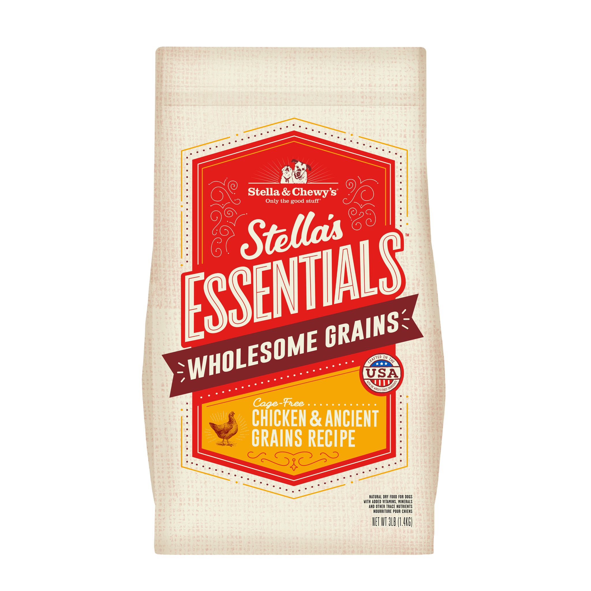 Stella & Chewys Stella & Chewys Stella's Essentials Cage-Free Chicken & Ancient Grains Recipe